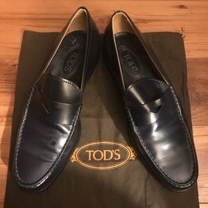 TODS Leather Moccasins - bag included